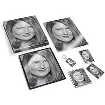 ANNETTE O'TOOLE - Original Art Gift Set #js003 (Includes - A4 Canvas - A4 Print - Coaster - Fridge Magnet - Keyring - Mouse Mat - Sketch Card)