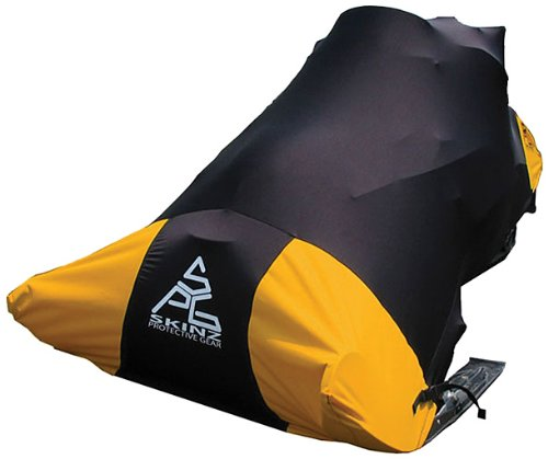 (Skinz Protective Gear SNCWP100-ORG Orange Standard Pro Series Snowmobile Cover)