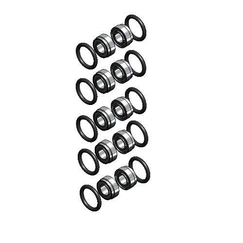 KaVo BELLAtorque/COMPACTtorque / Contact-air/POWERtorque / SUPERtorque Push Button Bearing Kit 5-Set