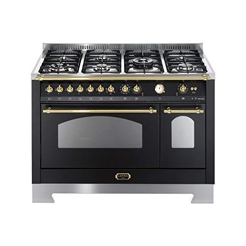 Lofra RNMD126MFT+E/2AEO Cucina freestanding Nero Gas A ...