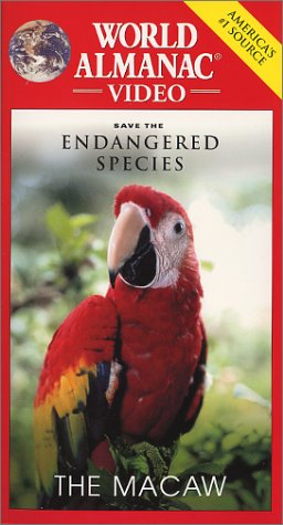 Save the Endangered Species-The Macaw [VHS] ()
