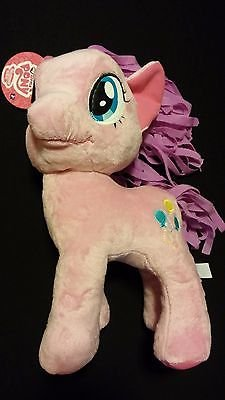 My Little Pony 14'' PINKIE PIE Pink Horse w/ Party Balloon Soft Stuffed Plush Toy by Inspire Dream Play