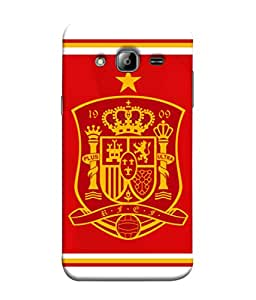 ColorKing Football Spain 14 Red shell case cover for Samsung J3 2016