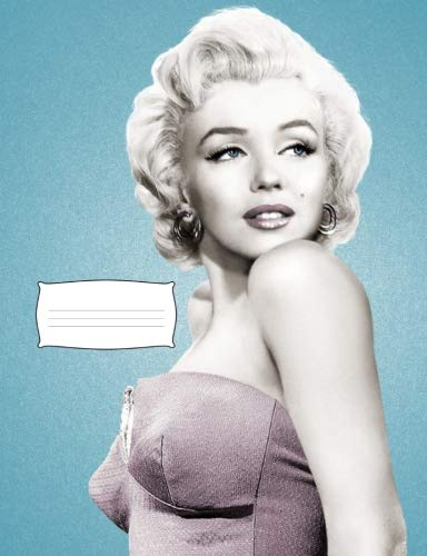 - Marilyn Monroe Compostion College Ruled Notebook: Marilyn College Ruled Paper Composition Notebook