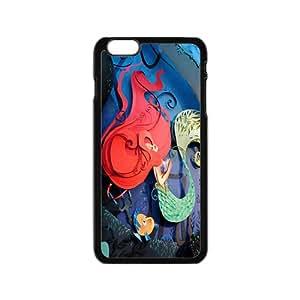 Cartoon Mermaid BlackiPhone 6 case