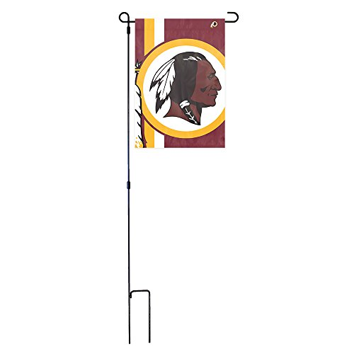 Washington Redskins Garden (Party Animal Washington Redskins Bold Logo NFL Garden Flag and Stand)