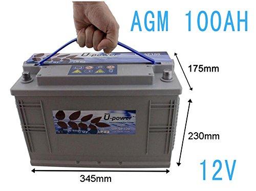 Batterie Solar AGM zyklenfest 100Ah Solar Photovoltaik
