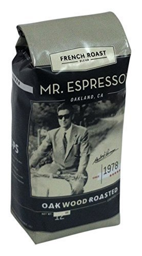 French Roast - Mr. Espresso - Oak wood roasted coffee, 12 oz by Mr. Espresso - OAK WOOD ROASTED COFFEE (Image #5)