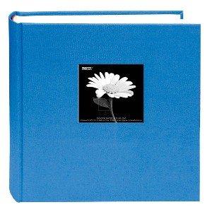 Pioneer bi-directional gamuza de marco álbum de fotos, al azar serie de diseñador fundas de tela brillante, Capacidad para...