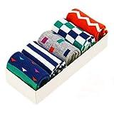 Lovely Kids' Winter Cotton Socks Warm Socks Gift-Box, 5 Pair(4-6 Years) S15-8