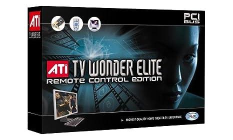 ATI TV WONDER ELITE TV TUNER DOWNLOAD DRIVER