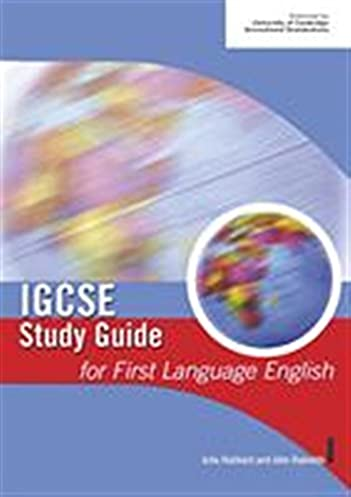 igcse study guide for first language english igcse study guides rh amazon co uk Edexcel IGCSE English Past Papers igcse study guide for english literature
