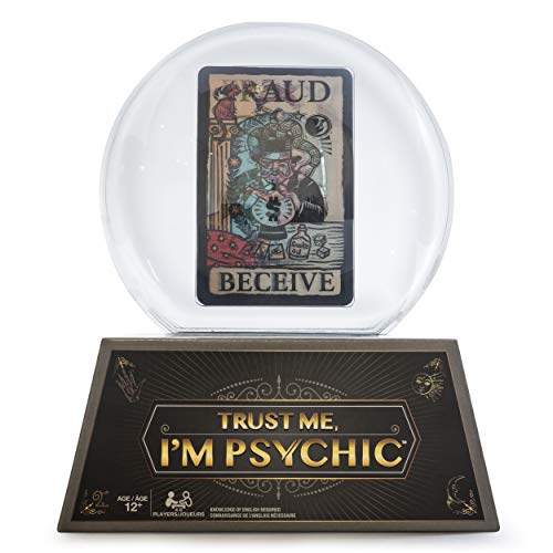 Trust Me, I'm Psychic Game, Fortune-Telling and Storytelling Party Game for Kids and Adults Aged 12 and Up