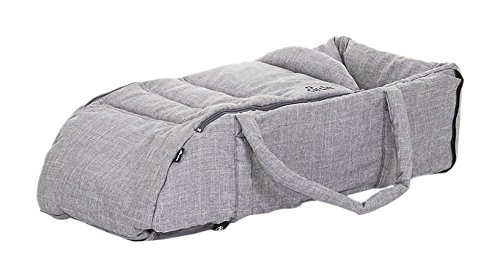 CIRCLE 91009722 Soft Carrycot Woven Babywanne Weich, Grau ABC Design