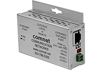 clfe 1eoc comnet, Ethernet por cable coaxial, 1 canal, PoE, 10/