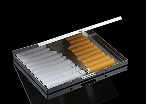 Cool Silver Crush Silver HONB Slim Cool Metal Case Proof HONB Slim Proof Cigarette Crush Metal Case Cigarette UxFdUwvq