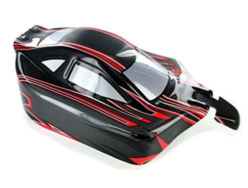 (Redcat Racing Buggy Body, Red/Black)
