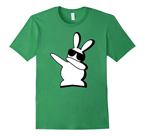 [Men's Hip Hop Rabbit Bunny Easter T Shirts Small Grass] (White Rabbit Dance Costumes)