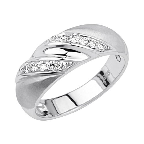 .925 Sterling Silver Rhodium Plated Swirl Men's Wedding Band - Size 12 (Swirl Plated Silver)