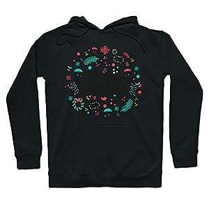 Janly Clearance Sale Long Sleeve Ladies Blouse , Womens Long Sleeves Christmas Letter Print Hoodie Sweatershirt Tops…