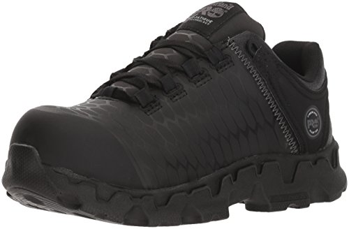 Timberland PRO Women's Powertrain Sport SD+ Industrial Shoe, Black, 8.5 W US