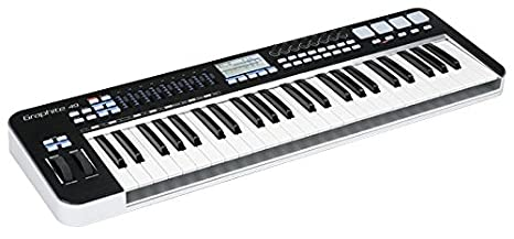 SAMSON GRAPHITE 49 teclado controlador MIDI 49 clave [1 ...