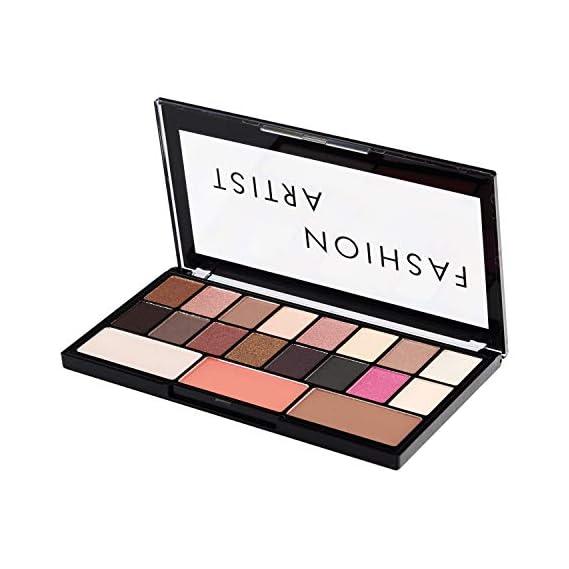 Swiss Beauty Hightlighter Blusher & Eyeshadow Palette, Face MakeUp, Multicolor-01, 30g