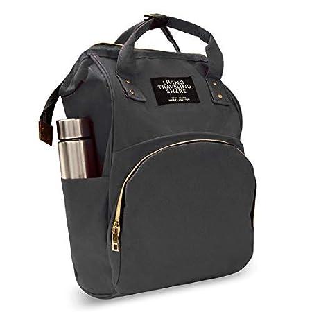 Ketsaal Bag Backpack Large Baby Mother Smart Travel Organizer Black
