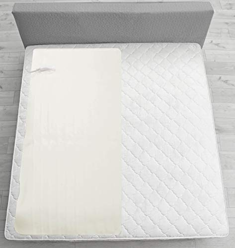 Plush Soft Quilted Secure Comfort Technology Electronic Heated Pad Under Blanket 3 Sizes 3 Heat Settings Auto Shut Off Fast Heating for Full Body Warming (Pad 30″ x 61″)