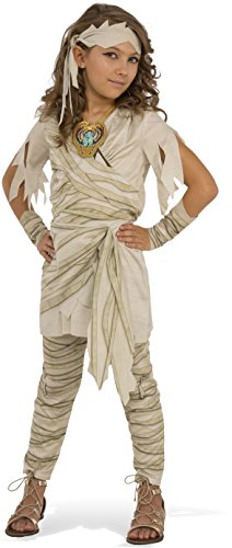 Mummy Costumes - Rubies Costume Child's Undead Diva Mummy Costume, Medium, Multicolor