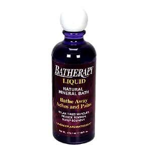 Batherapy Natural Mineral Bath, Liquid, Lavender Aromatherapy, 16-Ounces