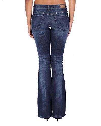 Flare Livier Jeans Diesel Blu 668f Da Dona Super Slim qPIwwzgt