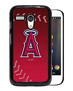 Los Angeles Angels of Anaheim Black Motorola Moto G Screen Phone Case Unique and Grace Design