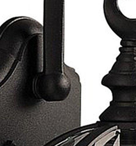 Y-Decor EL52BL Adalyn 1 Exterior Lighting in Black Finish