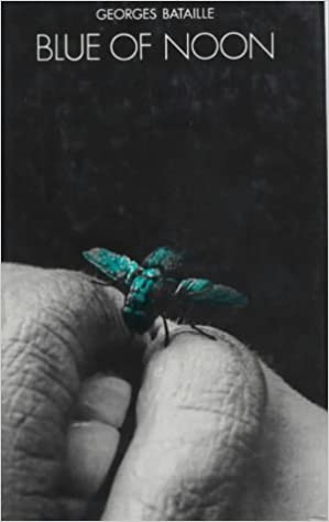 Blue of Noon, trans. Harry Matthews Cover art