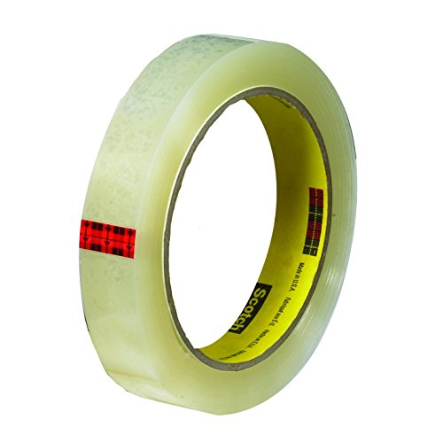 (Scotch Transparent Tape, Wide Width, Engineered for Office and Home Use, 1 x 2592 Inches, 3 Rolls, Boxed (600-72-3PK))