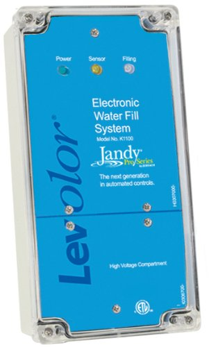 Levolor Electronic Water Leveler (Zodiac K1100CKC Levolor 110/220V Fill Only Water Level Controller with 100-Feet Sensor and 1-Feet Valve)