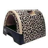 Kitty a Go-Go Cat Litter Box - Leopard