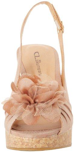CL By Laundry Ilena-3 Donna Tessile Sandalo con la Zeppa