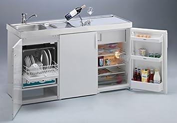 Miniküche Mit Kühlschrank Ohne Herd : Miniküche kitchenline mkgs mit ks uks geschirrspüler