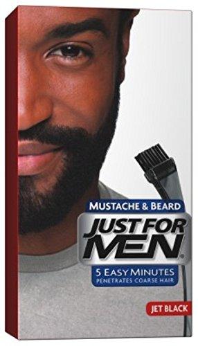 Just For Men Mustache & Beard #M-60 Jet Black Color Gel