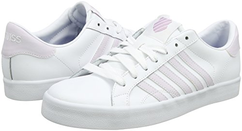 Gray Weiß 35 So White K EU 5 Damen Stripes Lilac Sneaker Swiss Belmont wqv8Uva