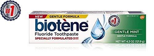 Biotene Fluoride Toothpaste Gentle Mint - 4.3 oz, Pack of 5