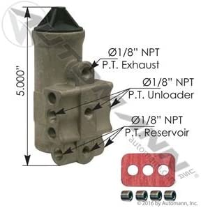 100-120 PSI 170.275491 D2 Type Governor