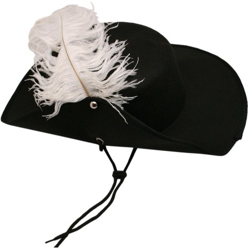 [US Toy Musketeer Hat with Feather Costume] (Women In History Costumes)