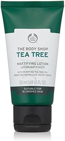 The Body Shop Tea Tree Mattifying Face Lotion, Made with Tea Tree Oil, 100% Vegan, 1.69 fl. oz.