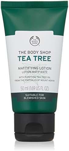 The Body Shop Tea Tree Mattifying Face Lotion, Made with Tea Tree Oil, 100% Vegan, 1.69 fl. oz.