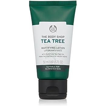 The Body Shop Tea Tree Mattifying Lotion, 1.69 Fl Oz (Vegan)