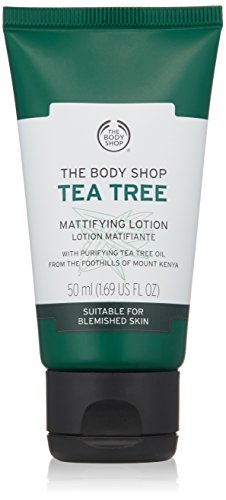 The Body Shop Tea Tree Mattifying Lotion, 1.69 Fl Oz (Vegan) by The Body Shop
