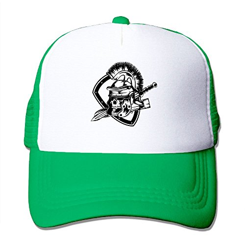 UCDA Skeleton Warrior Adult Mesh Hats Caps